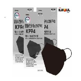 [방송최저가!!] 일월 KF94 보건용 마스크 대형 50매_(블랙 or 화이트 선택가능)