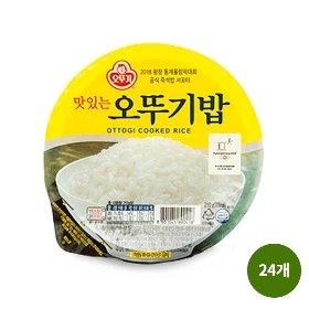 오뚜기 맛있는 오뚜기밥 (210g x 24)