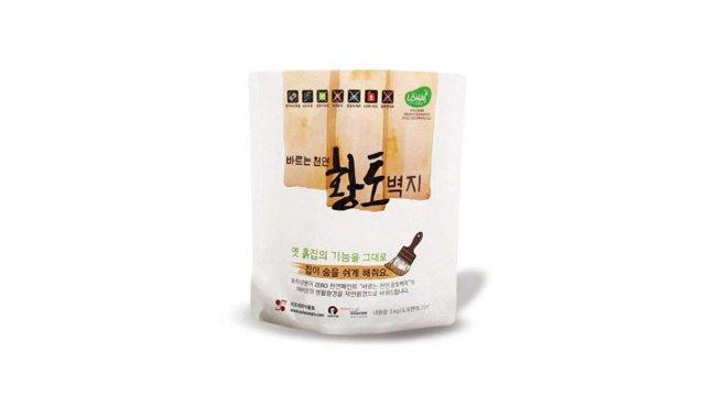 [무료체험] 바르는 천연 황토벽지 5kg+체험분 500g