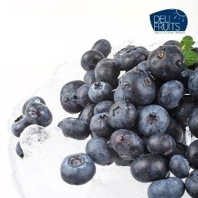 [델리후르츠] 아이스 냉동 블루베리 1kg / 미국산