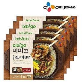 [CJ제일제당] 비비고 한양식불고기덮밥 327g x 5팩