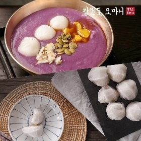 강원도 오마니 생감자 옹심이 (1kg)+감자떡(1.5kg)
