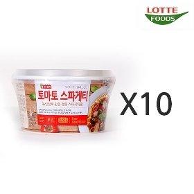 [롯데푸드] 토마토 스파게티 (138g x 10)