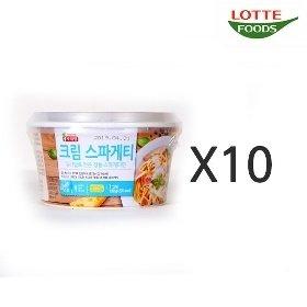 [롯데푸드] 크림 스파게티 (138g x 10)