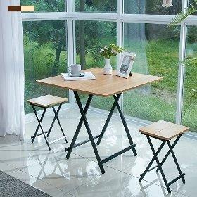 까사마루 접이식 테이블 1세트 (테이블+의자2개)