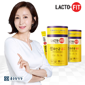 [종근당건강 본사] 락토핏 생유산균 골드 3통(150일분)