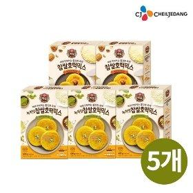 [CJ] 찹쌀호떡믹스 (기본/녹차맛) 400g*5개 선택 1