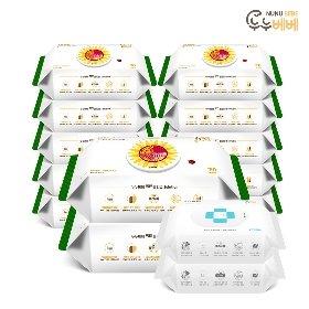 누누베베 썬플라워 물티슈 70매 12팩+(사은품)손세정 전용티슈 20매 2팩