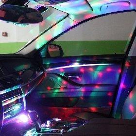 차량용 LED 미러볼 [USB 음성인식 기능]