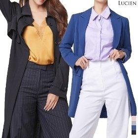 루시앙 여성 클래식 트렌치코트 / 싱글 자켓 4종 택1