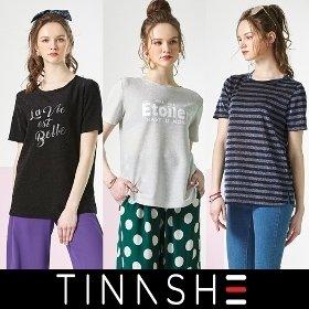 티나쉐 트윙클 레터링 티셔츠 3종 세트