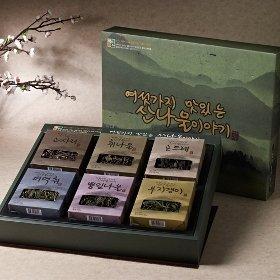 [산애진송] 산나물 이야기 6종 선물세트