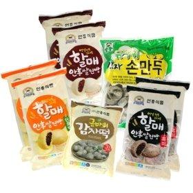 [안흥찐빵]종합선물세트(찐빵3종+감자떡+감자손만두)