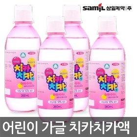 [삼일제약]치카치카액 360ml 4개