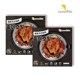 [1세트] 로렌힐스 접시형 종이호일 2박스 (총 180매)