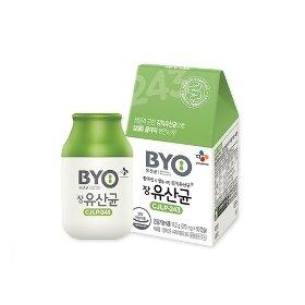 BYO장유산균 60캡슐 * 3박스 (총 6개월분)