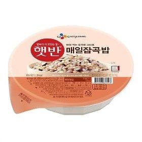 [CJ제일제당] 매일잡곡밥 210g*24개