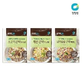 청정원 곤약볶음밥 9개(소고기/계란/닭가슴살 200g) 택1