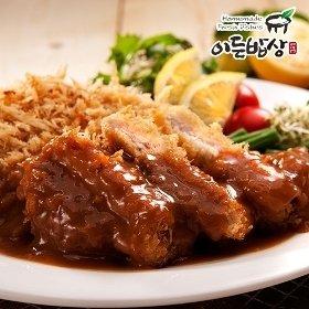 [이든밥상] 연한속살 안심돈까스 (120gx2장)x2세트/총 480g