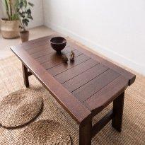 [특대형] 이홈데코 원목 접이식 테이블 (4~5인용 / 약1300mm)