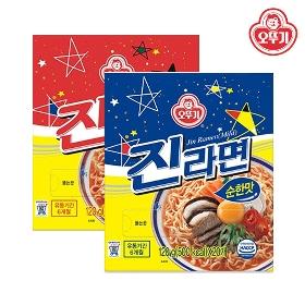 ★3월 할인★ [오뚜기] 진라면 매운맛/순한맛 20봉 택1