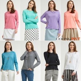 [20SS] CERINI BY PAT 올데이 기능성 티셔츠 8종, 여성
