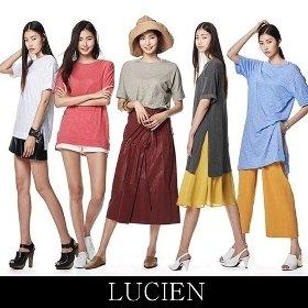 루시앙 모달 슬럽 티셔츠 5종 택1
