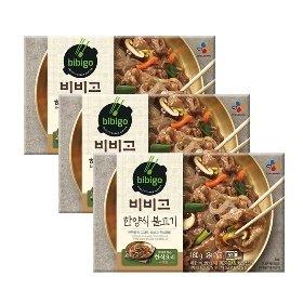 [CJ] 비비고 한양식불고기 180g*3팩