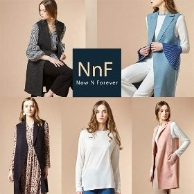 NNF 여성 롱 쿠션베스트 앙상블 2종