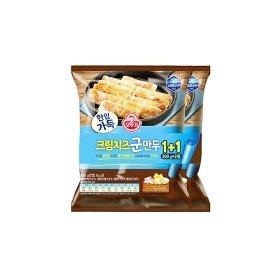 [오뚜기] 한입가득 크림치즈군만두 (300g x 2)