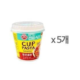 [오뚜기] 떠먹는 컵파스타 볼로네제 (170g) x 5