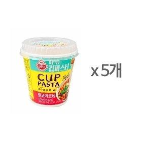 [오뚜기] 떠먹는 컵파스타 불고기로제 (170g) x 5