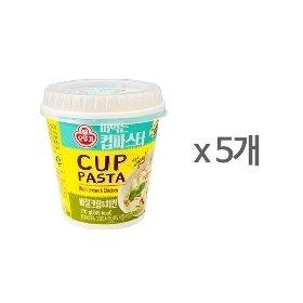 [오뚜기] 떠먹는 컵파스타 바질크림,치킨 (170g) x 5