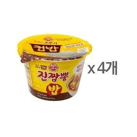 [오뚜기] 컵밥 진짬뽕밥 (187.5g) x 4