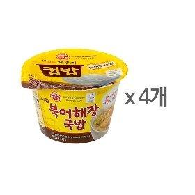 [오뚜기] 컵밥 북어해장국밥 (175g) x 4