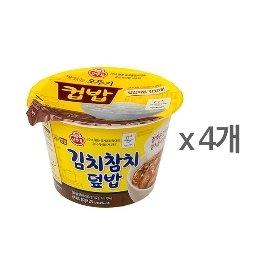 [오뚜기] 컵밥 김치참치덮밥 (280g) x 4
