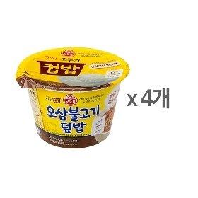 [오뚜기] 컵밥 오삼불고기덮밥 (280g) x 4