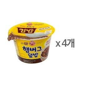 [오뚜기] 컵밥 햄버그덮밥 (280g) x 4