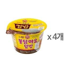 [오뚜기] 컵밥 불닭마요덮밥 (267g) x 4