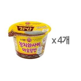 [오뚜기] 컵밥 참치와사비마요덮밥 (217g) x 4
