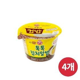 [오뚜기] 컵밥 톡톡 김치알밥 (192g) x 4