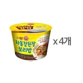 [오뚜기] 컵밥 차돌 강된장보리밥 (280g) x 4