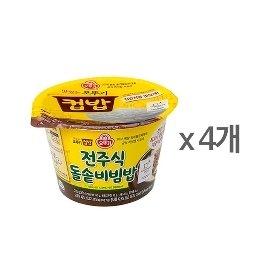 [오뚜기] 컵밥 전주식 돌솥비빔밥 (233g) x 4