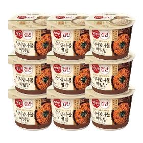 [CJ] 컵반 낙지콩나물비빔밥 216g*9개