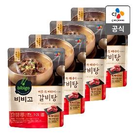 [비비고] 갈비탕 400g*4봉