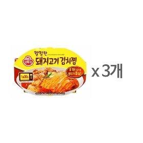 [오뚜기] 칼칼한 돼지고기김치찜 (180g) x 3