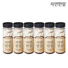 천연조미료 자연한알 6병 + 레시피