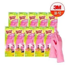 3M 베이직 고무장갑 중/소 10개외 종류별 고무장갑