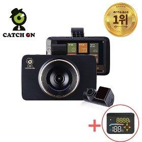 캐치온 블랙박스 로얄 2채널 32G + HUD(헤드업 디스플레이) 패키지