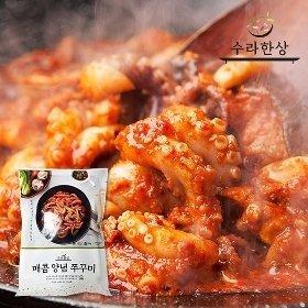 [수라한상]감칠맛나는 수라한상 매콤 쭈꾸미 (300gx4)